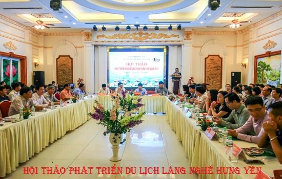 Hội thảo phát triển du lịch Làng nghề Hưng Yên năm 2017